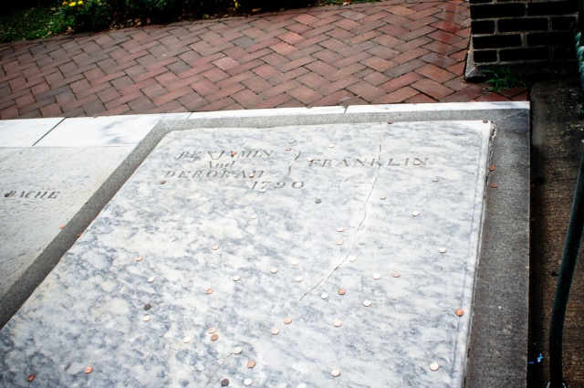 Benjamin Franklin's Burial Place