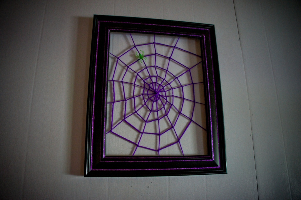 Spider Web Photo Frame