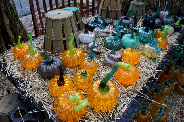 Glass Pumpkins 1