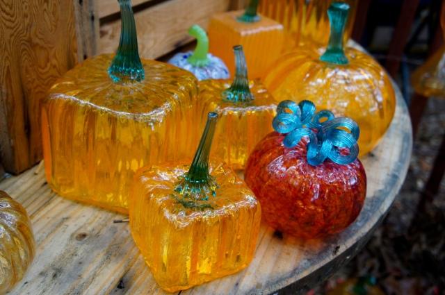 Glass Pumpkins 2