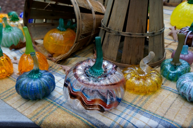 Glass Pumpkins 3
