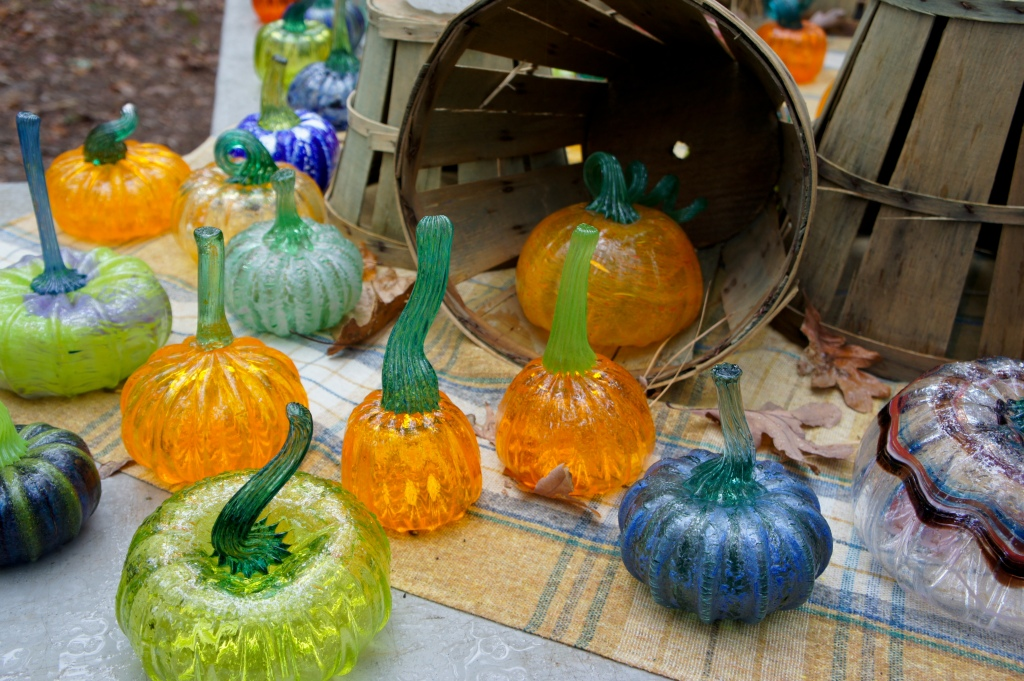 Glass Pumpkins 4