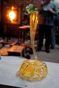 Really Awesome Glass Pumpkin