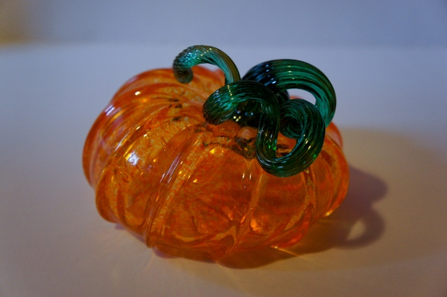 My Glass Pumpkin