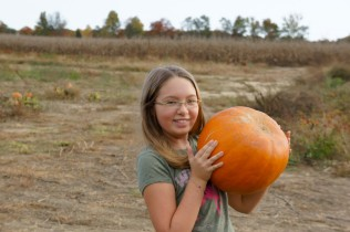 Trinity with Pumpkin