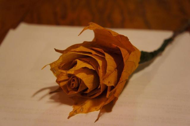 Leaf Rose