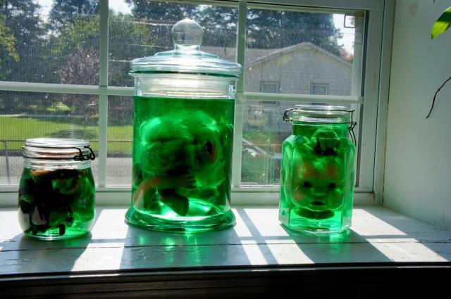 Creepy Specimen Jars