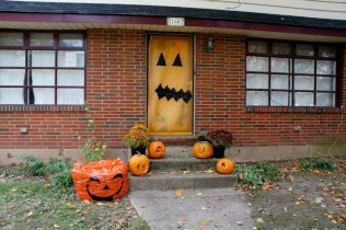 Front Steps Decorated