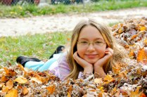 Trinity in the Leaf Pile