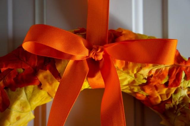 Orange Bow