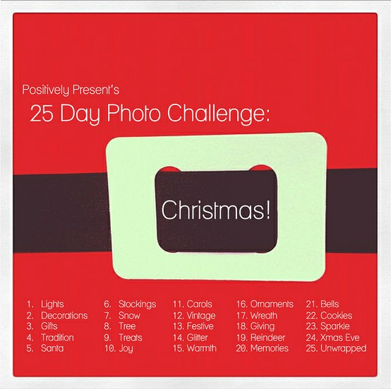 25 Days of Christmas Challenge