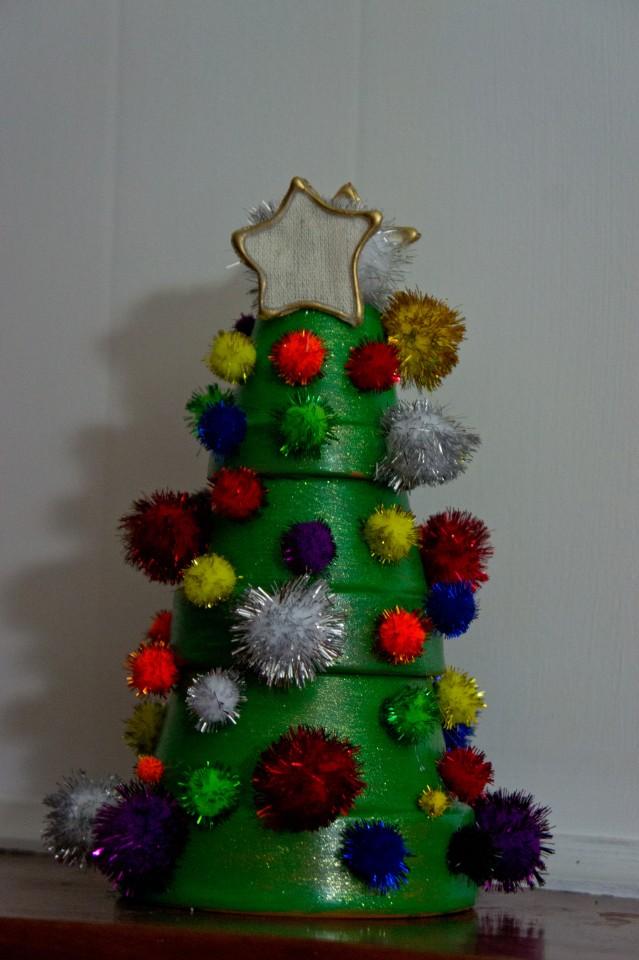 Clay Pot Christmas Tree | Pa-BLAM!