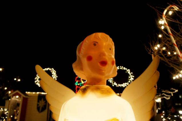 Creepy Eyed Angel