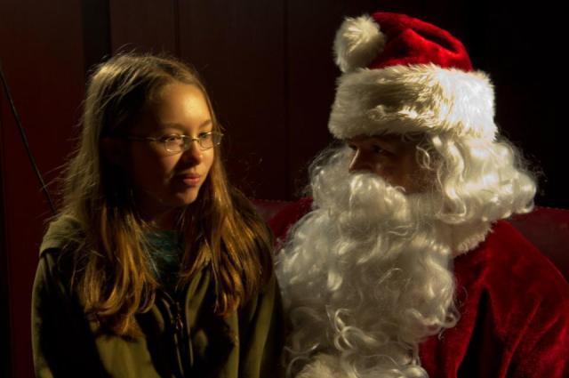 Trinity and Santa