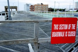 Boardwalk Closed