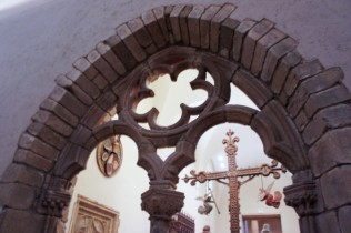 Arched Entrance from the Chapter House of the Carmelite Convent in Limoges, second half of the 13th century