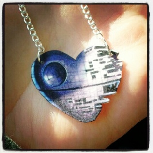 Death Star Necklace